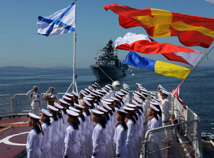 Флот Владивостока.