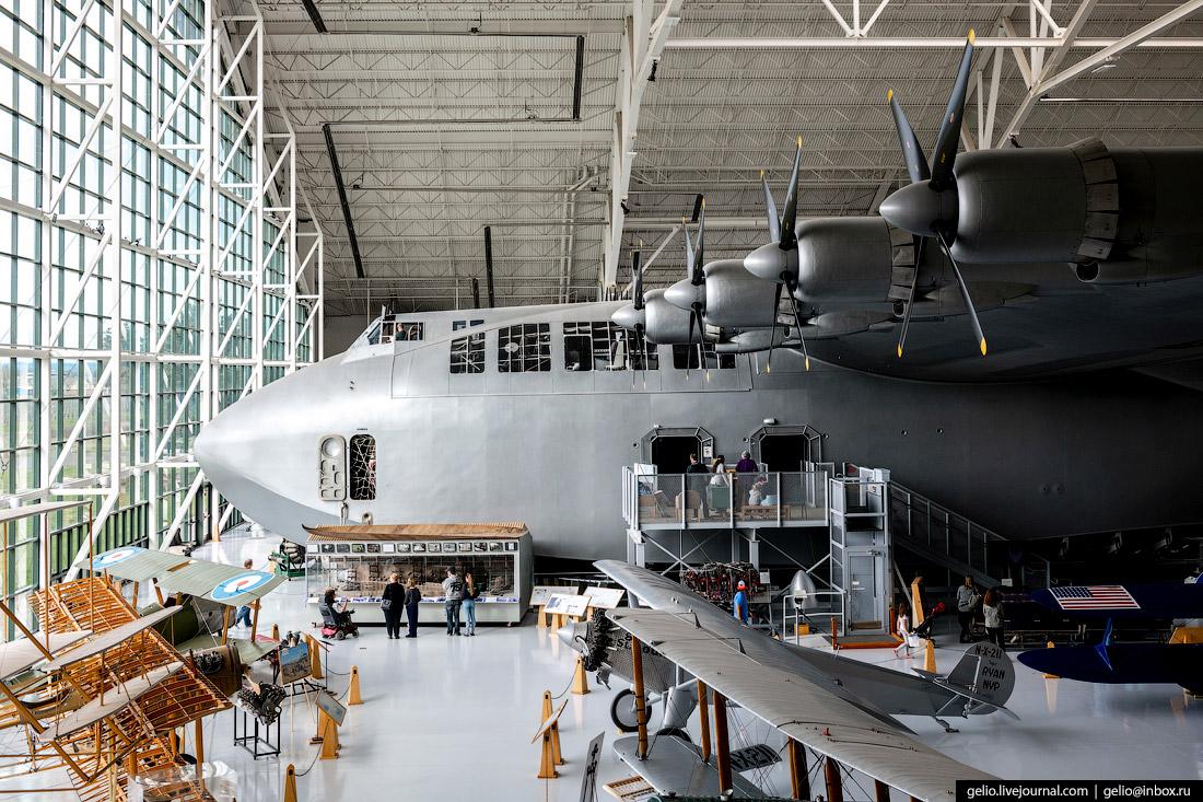 Самая большая летающая лодка