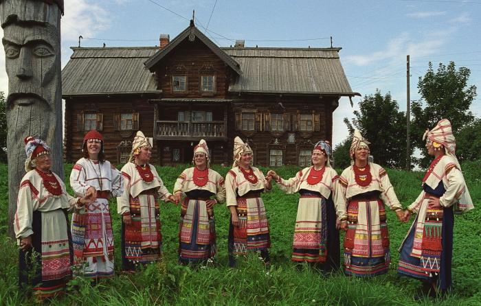 Малочисленный финно-угорский народ вепсы./Фото: newsvo.ru