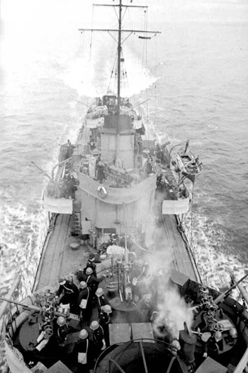 6 октября 1943 года. Операция «Верп» и её уроки для нашего времени вмф,история