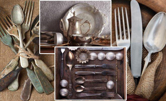 Как очистить столовые приборы: 10 проверенных способов