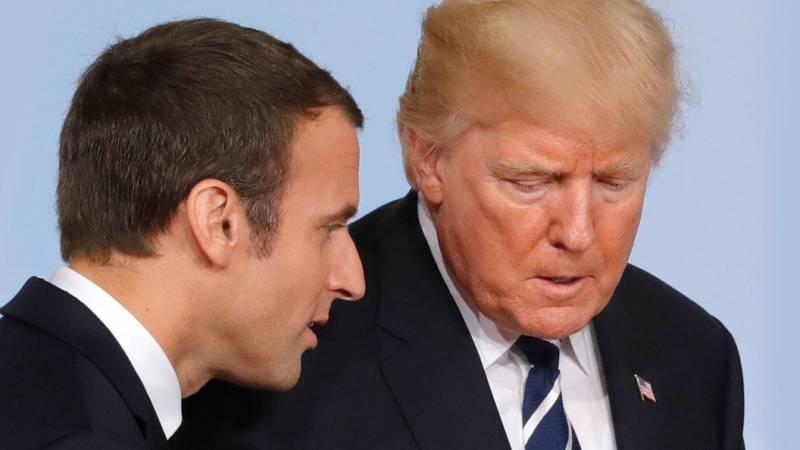 Трамп публично унизил Макрона и всех французов