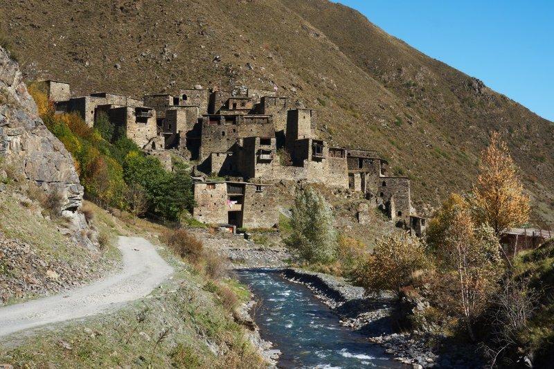 Города-крепости в Хевсуретии