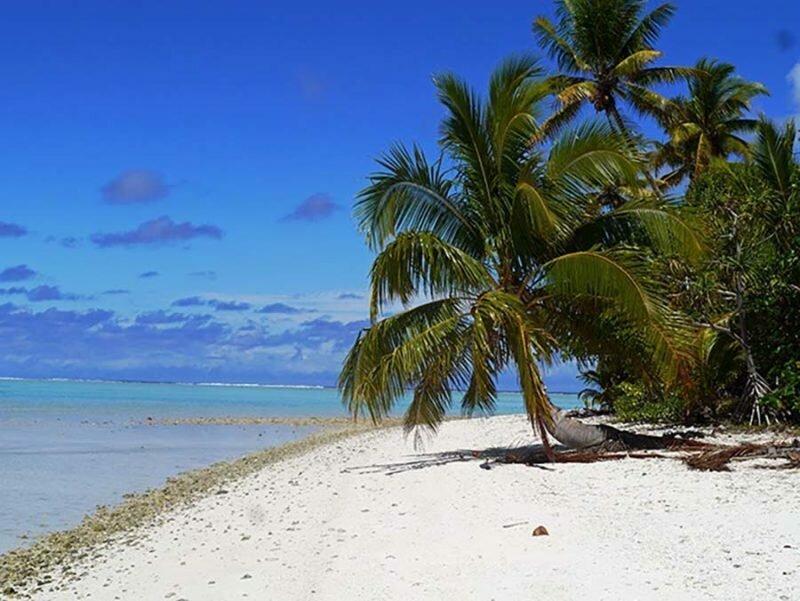 Остров Палмерстон был заселён в 19 веке английским плотником Уильямом Марстерсом и его тремя жёнами жизнь, интересно, люди, остров, факты