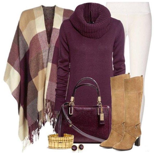 Как стильно одеться зимой: 7…