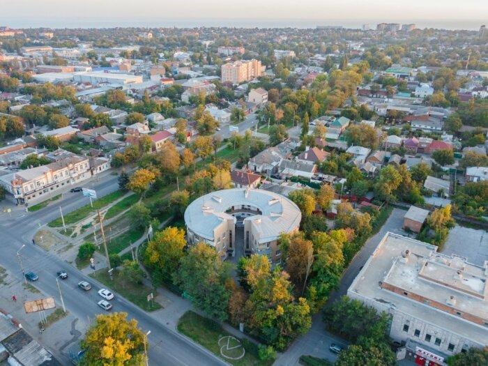 Круглый дом Таганрога - смелое решение советских архитекторов