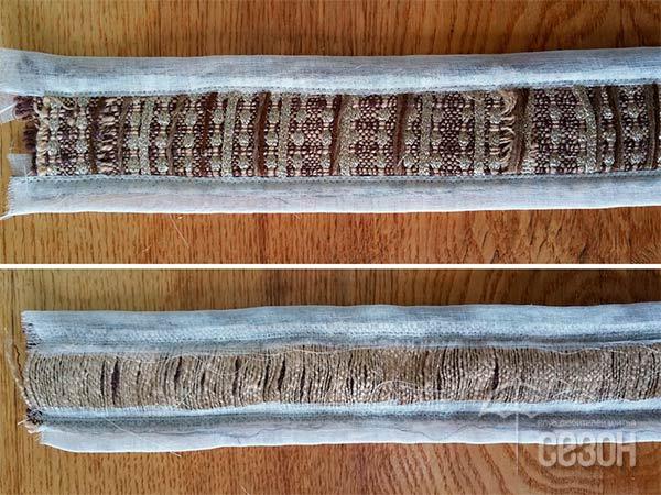 Тесьма в виде жгута - мастер-класс декора жакета декор