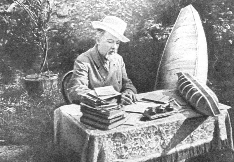 К.Э. Циолковский, родоначальник нашей космической мысли. Калуга, 1932 г. Весь Мир в объективе, ретро, старые фото