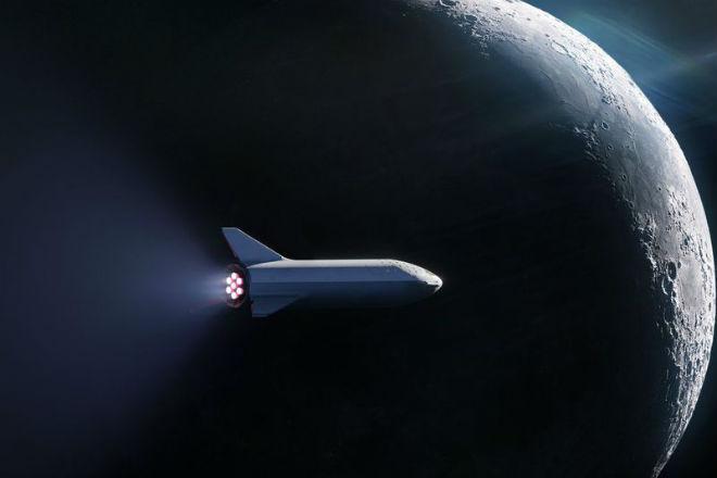 SpaceX отправит космического…