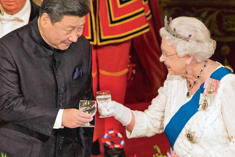 Сравните две цивилизации : Китай    vs  Англии  через  призму  привычек Война и мир
