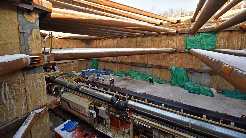 Станцию «Давыдково» Большого кольца метро завершат в 2021 году