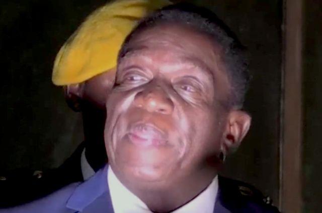 На президента Зимбабве было совершено покушение