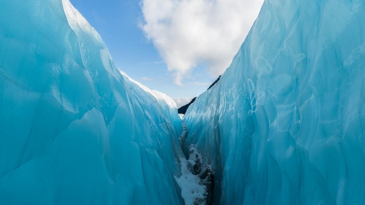 Ледник Фокса 13 км длиной, Новая Зеландия красивые места, красота, ледник, ледники, природа, путешественникам на заметку, туристу на заметку, фото природы