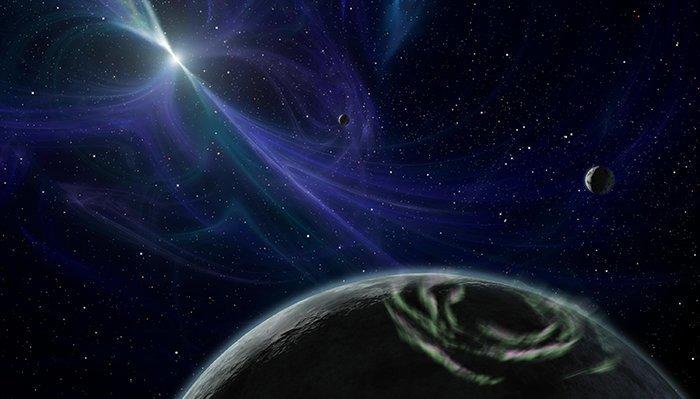 9. Psr J1719–1483 B -  экзопланета у миллисекундного пульсара вселенная, интересное, космос, подборка, экзопланета
