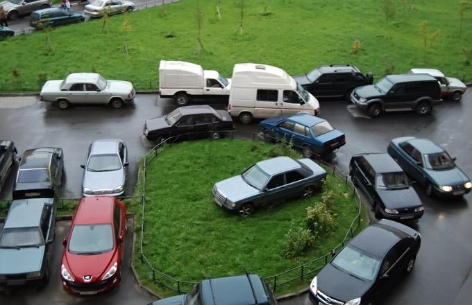 Парковка не для всех