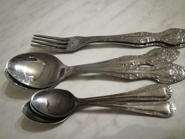 От чистки солью столовые приборы сверкают как новые: правда или миф очумелые ручки