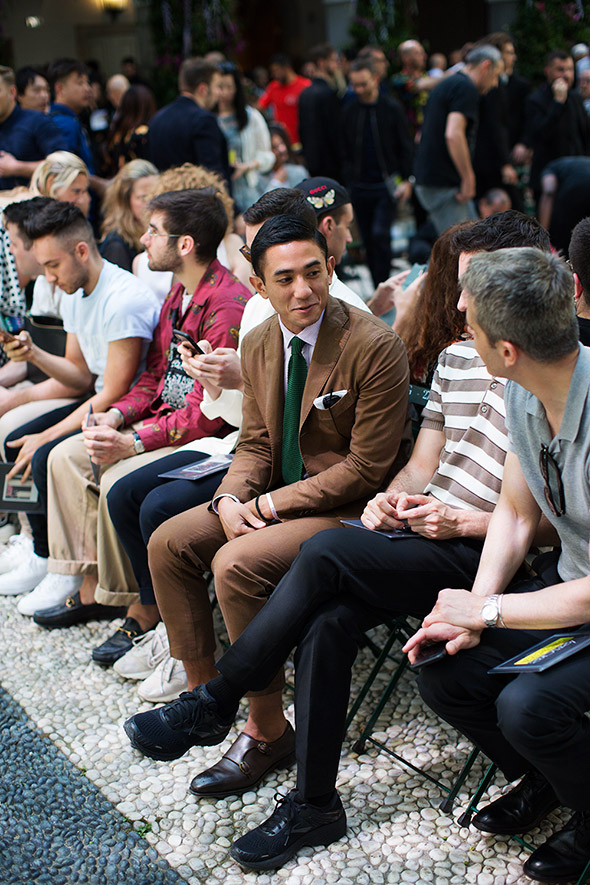 On the Scene…At the Shows, Milan