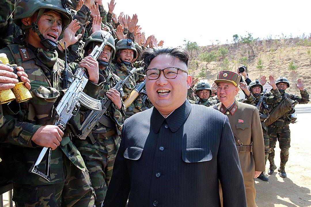 В КНДР показали  видео ракетного удара по США