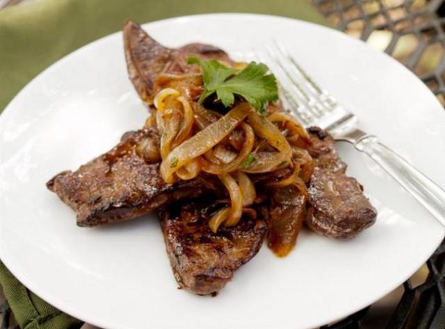 Рецепты маринадов для куриной, свиной и телячьей печени кулинария,маринад,маринады для печени,мясные блюда,рецепты