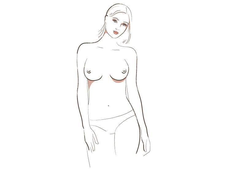 женская грудь виды и типы