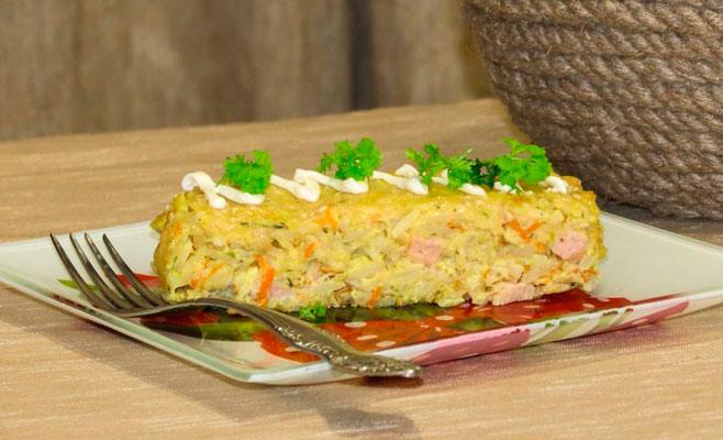 Вкуснейший пирог без теста! Порадуйте гостей и домочадцев!