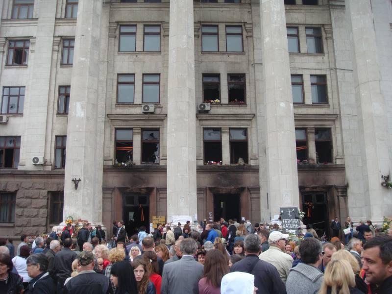 Трагедия 2 мая 2014 в Одессе. Убиты и забыты? украина