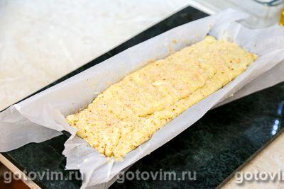 Картофельный рулет с рыбой и овощами, Шаг 09