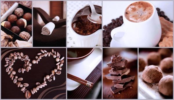 фотообои шоколад