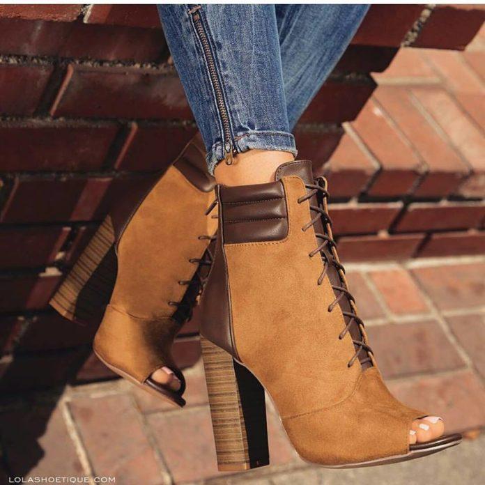 Модные демисезонные тенденции обуви на каблуках!