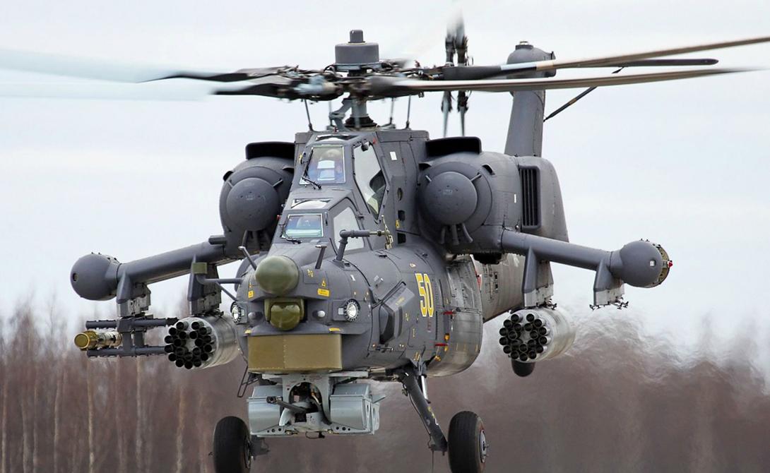 Опаснейшие ударные вертолеты мира любопытное