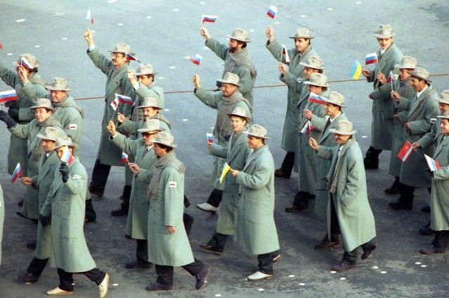 Без флага, без гимна. Как это было на Олимпиаде-1992