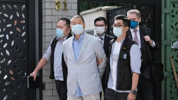 Гонконгский суд признал Джимми Лая и еще шестерых активистов виновными по делу о протестах