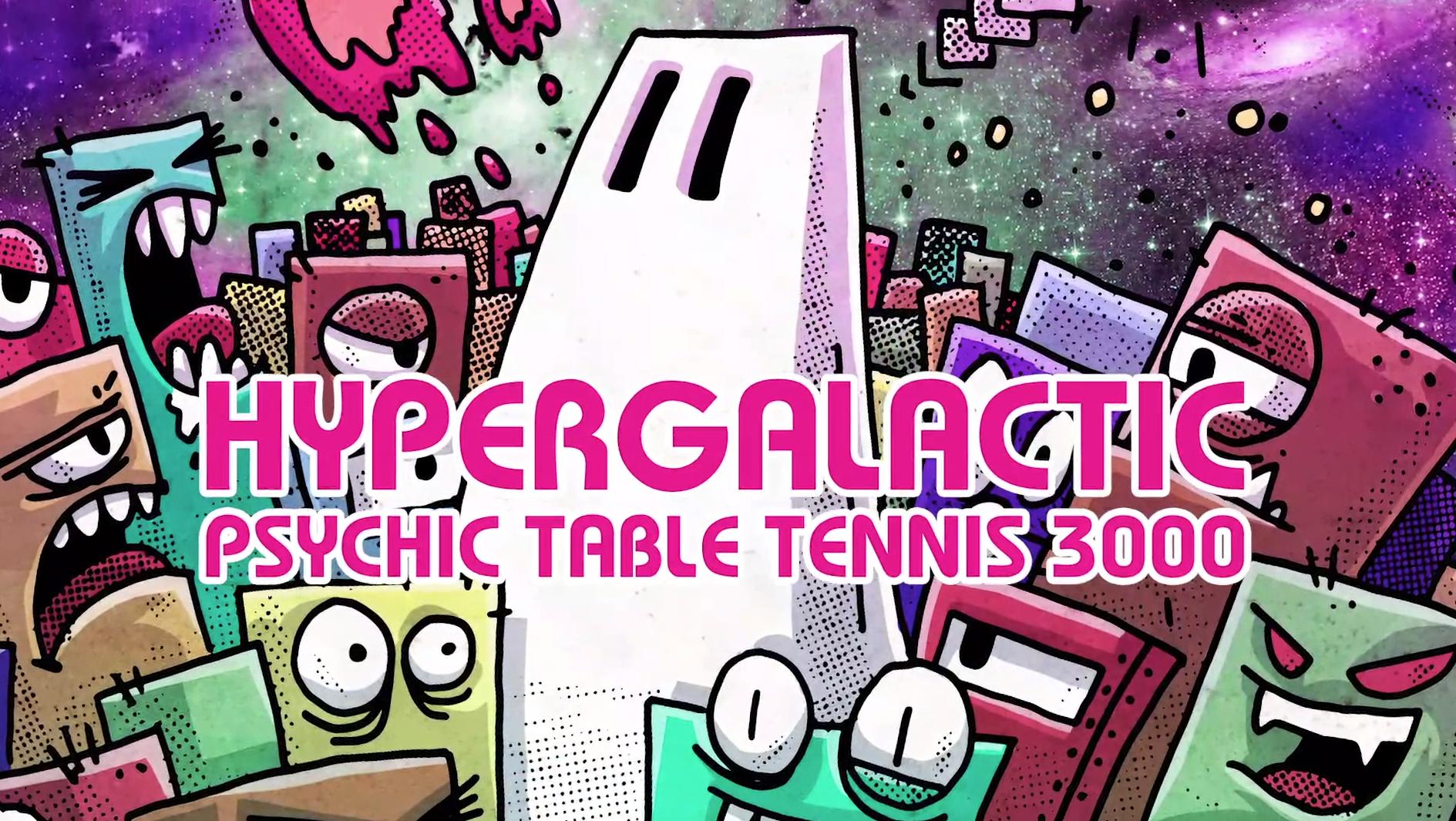 Новые романы Шепарда. Обзор Hypergalactic Psychic Table Tennis 3000