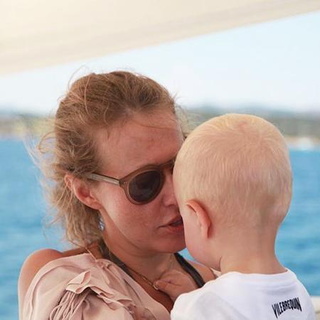 Ксения Собчак опубликовала редкое селфи с сыном звездные дети, ксения собчак