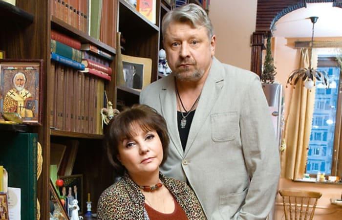 Актриса с третьим супругом, Игорем Воробьевым   Фото: shoubiz.guru