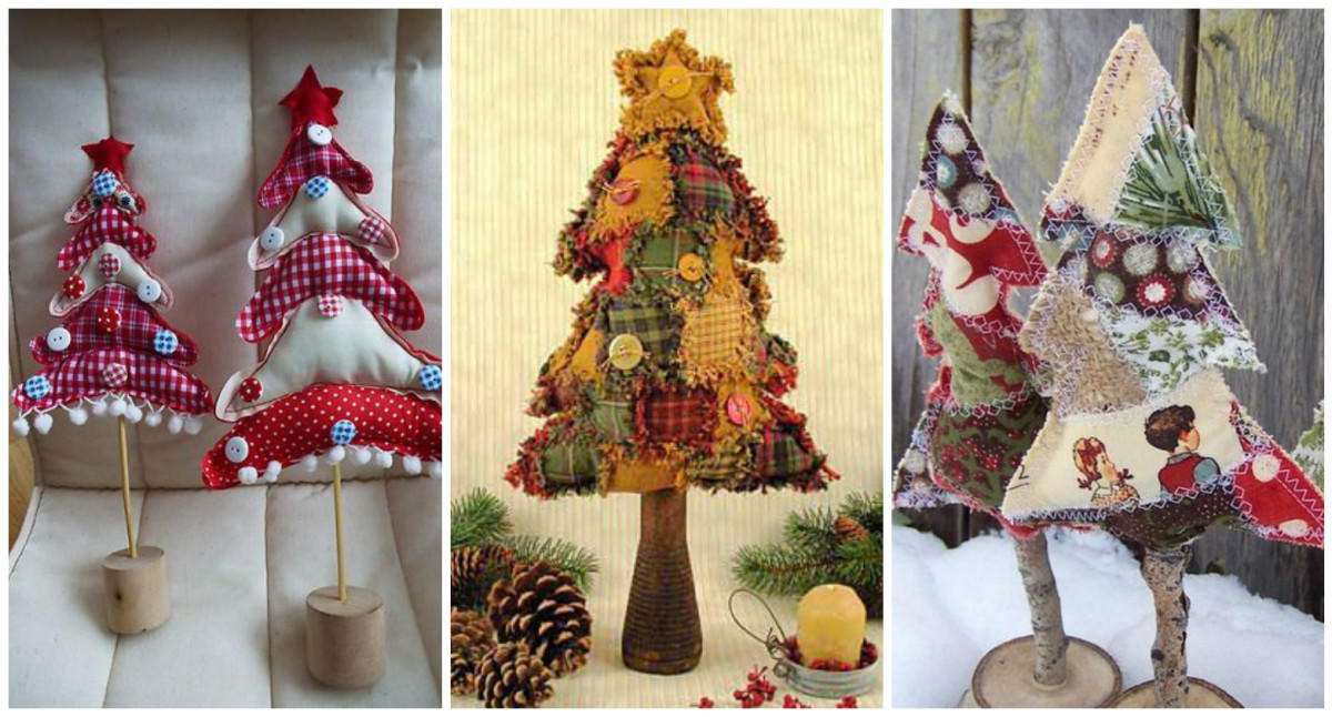 Новогодние елки своими руками: идеи на любой вкус идеи для дома,новогодние украшения