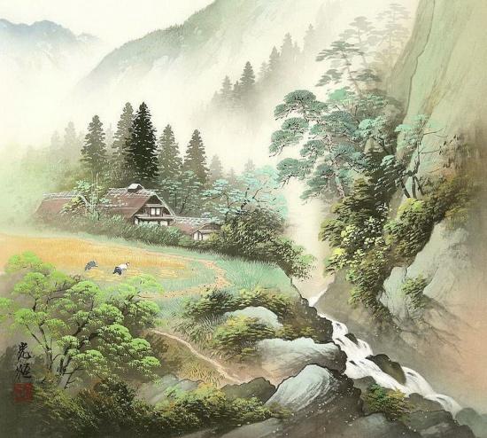 художник Коукеи Кодзима (Koukei Kojima) картины – 20