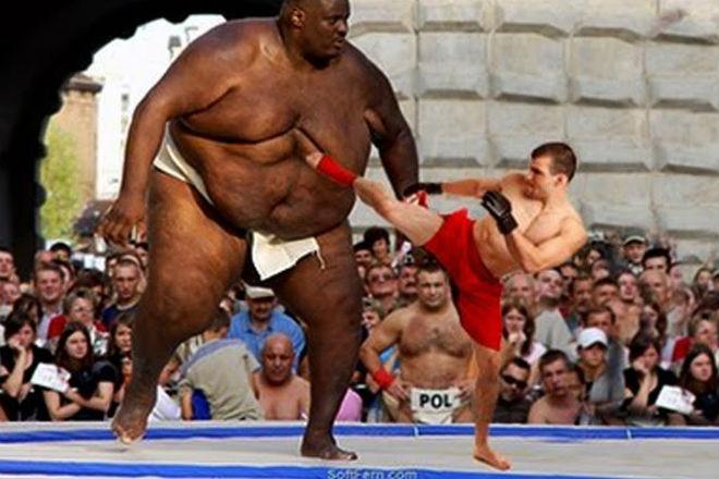 Мощь толстяков ММА: титаны веса на ринге