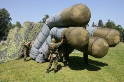 Китайские эксперты предполагают, что Россия активно использует в Сирии надувные комплексы ПВО