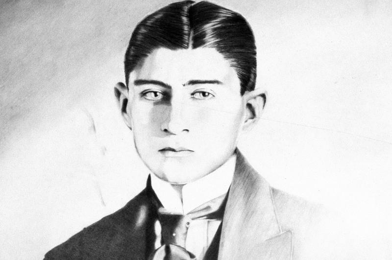 Портрет Франца Кафки работы Кристиана Тонниса, 1985 год