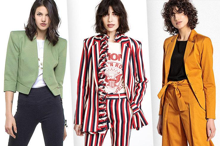 И на работу, и на вечеринку: 10 стильных пиджаков на любой случай