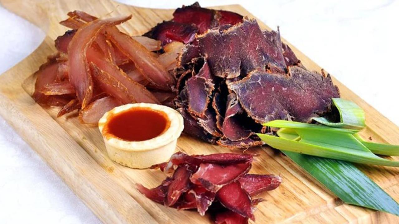 Мясо вяленое картинка это
