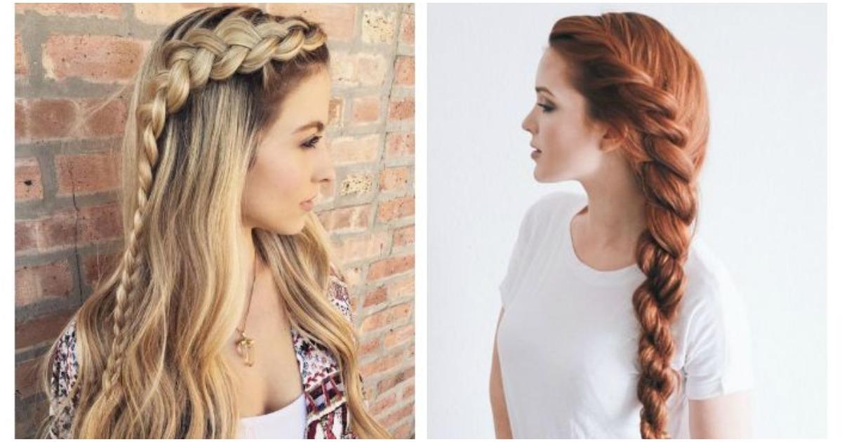Стильные косы без проблем: наглядные рекомендации для длинноволосых красавиц
