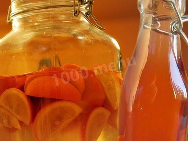 Спиртные напитки. Апельсиновое вино