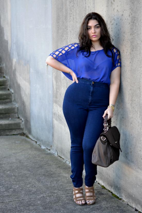 толстые женщины в джинсах - 13