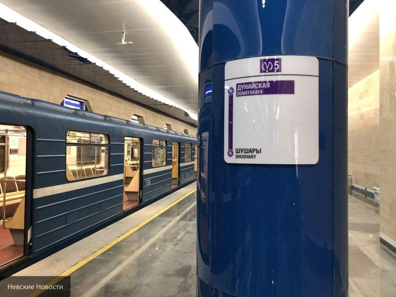 Губернатор Петербурга назвал причину протечек на новых станциях метро