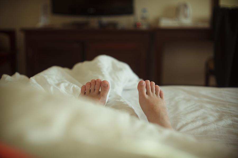 Не вставайте с постели, пока…