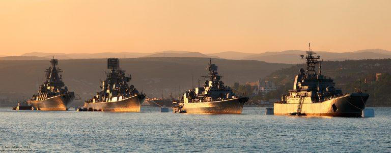 Ответ Черноморского флота РФ…