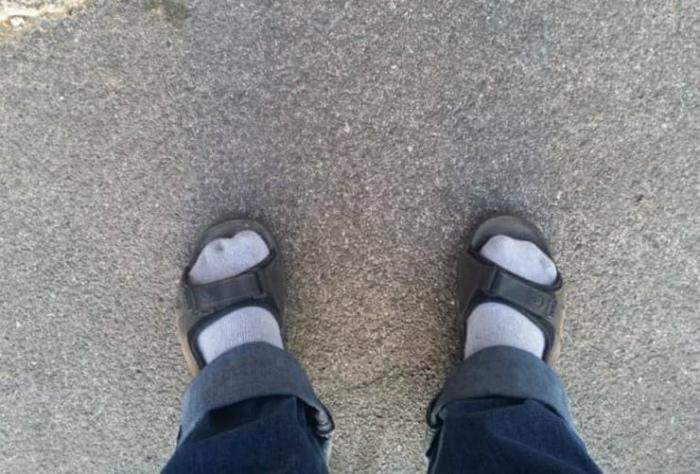 Куда же без носков?