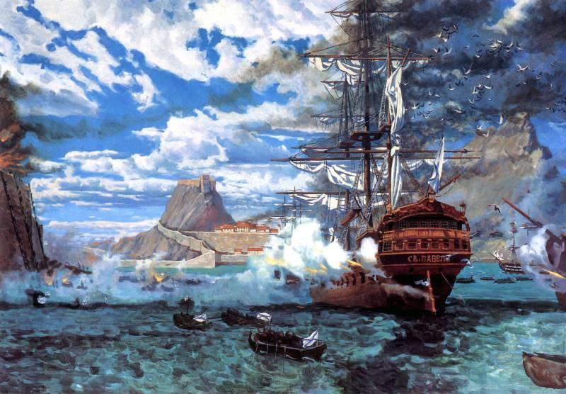 Как русские взяли неприступную крепость Корфу история
